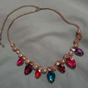Colorful Vince Camuto Teardrop Stone Choker